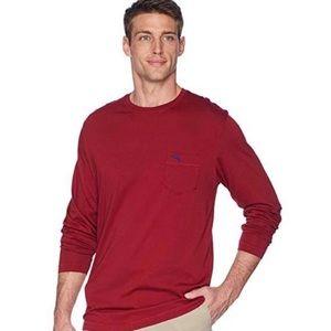TOMMY BAHAMA Burgundy Bali Skyline  T-Shirt XXL
